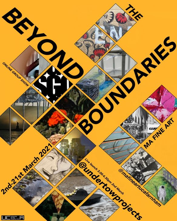 Beyond the Boundaries exhibition poster