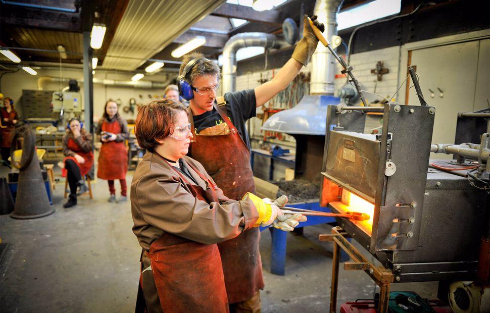 Metals Workshop, UCA Farnham