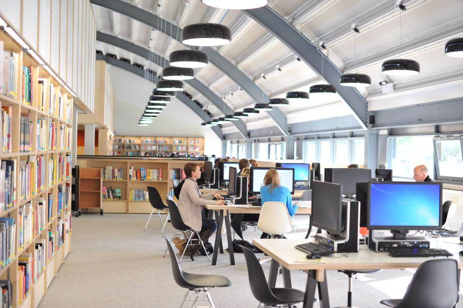Library at UCA Farnham