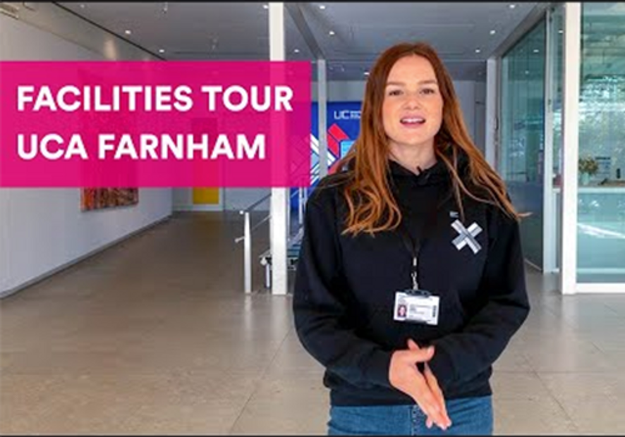 Farnham Campus video tour