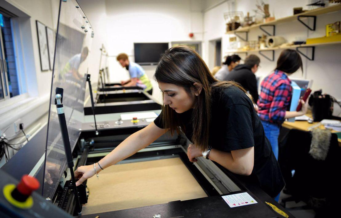 Print workshop, UCA Canterbury