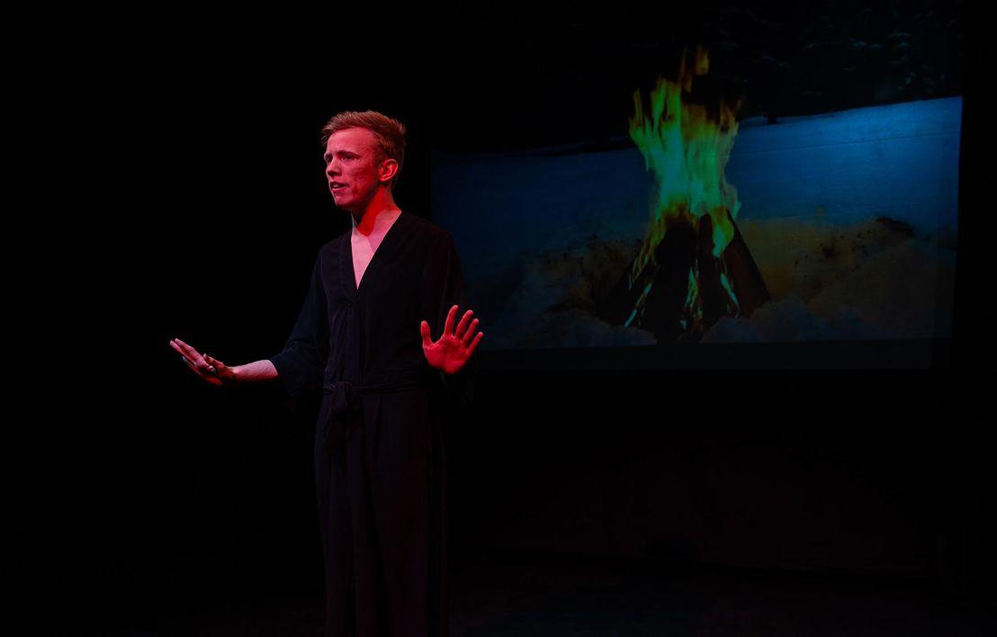 Harry Evans, in love vs hate, BA (Hons) Acting & Performance, UCA Farnham