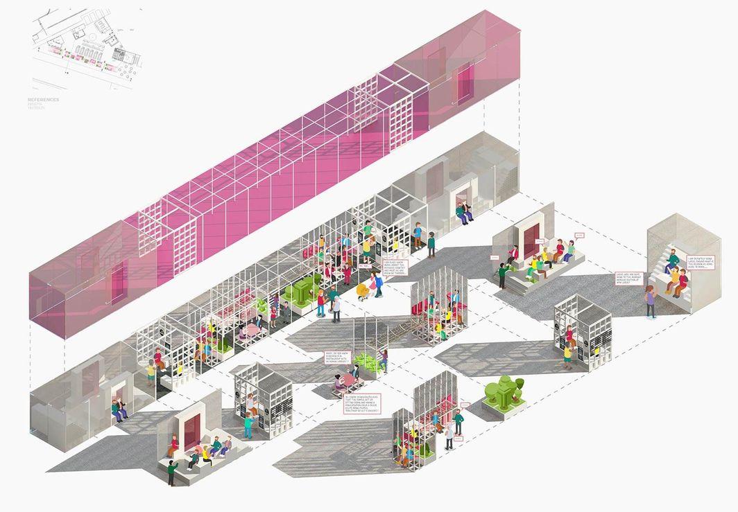 Lily Borroughs-Evans, BA (Hons) Interior Architecture & Design, UCA Canterbury