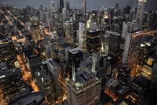 Cityscape image of New York City