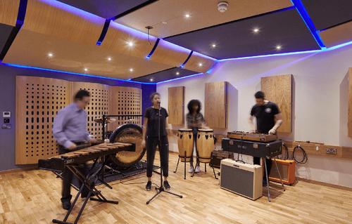Recording studio, Film & Media Centre, UCA Farnham