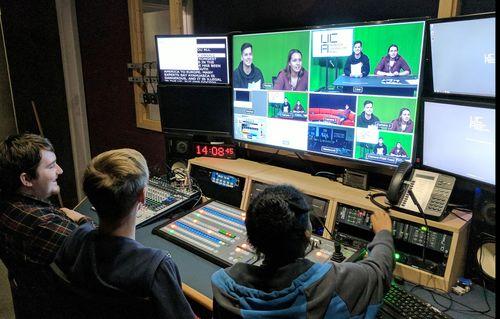 TV Studio, UCA Farnham