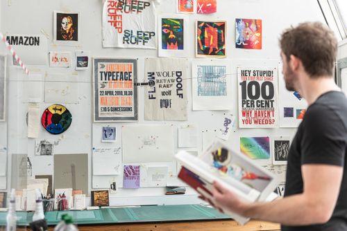 Printing Studio display