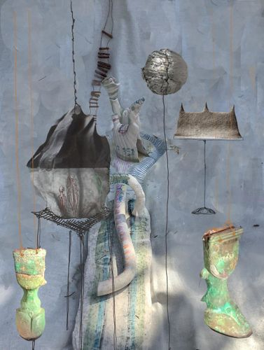 Brigid De Saulles, MA Ceramics, UCA Farnham