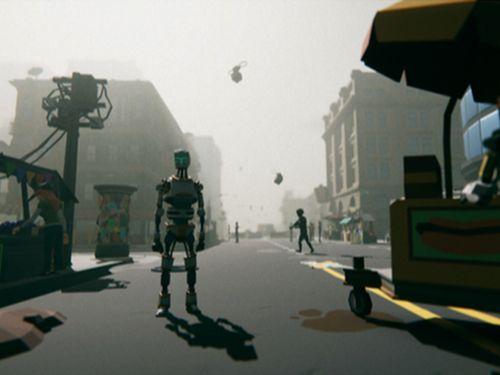 Game test image by Zach Hewlett MA Games Design student