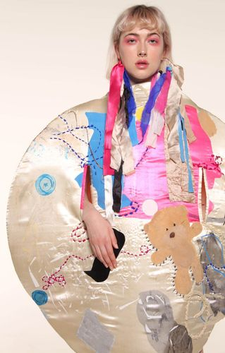Student work from BA (Hons) Fashion Textiles