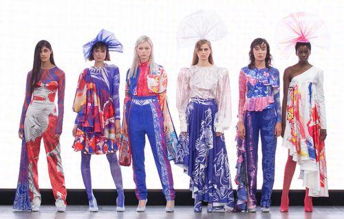 Lauren Jones, BA (Hons) Fashion Textiles Print, UCA Rochester - Photographer Polly Smith