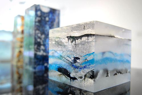 Student work from BA (Hons) Glass