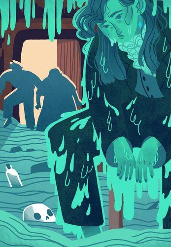 Rebecca Dennis, BA (Hons) Illustration, UCA Farnham