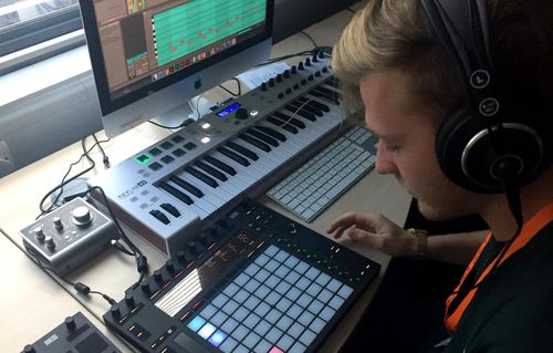 Music Composition Technology students