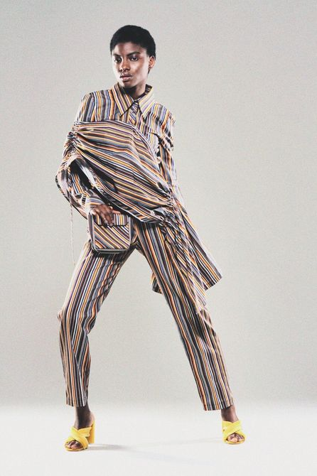 An outfit from Martina Mansaray's graduate collection