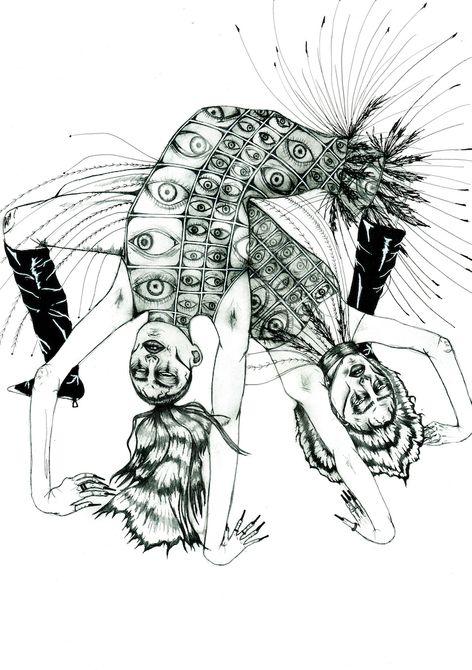 One of Jasmine de Baeza's award winning illustrations