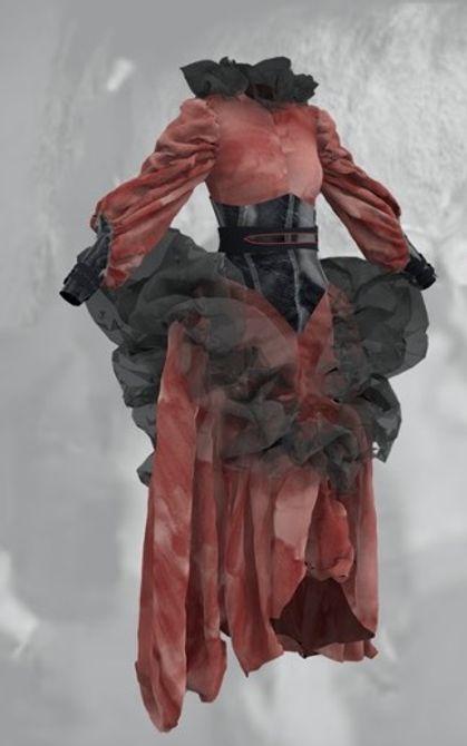 UCA 3D Digital Garment Awards 2021 winner - Annemarie Wheeler