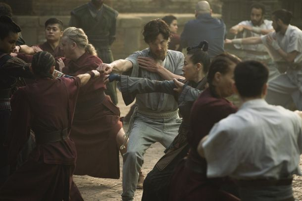 Emma Harding worked on the costumes for Doctor Strange (2016). Picture by Marvel Studios:Disney