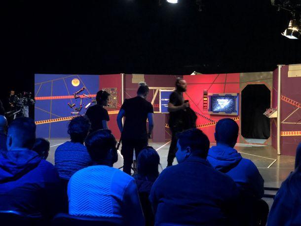 Maidestone Studios - live production of 'Mission Control'