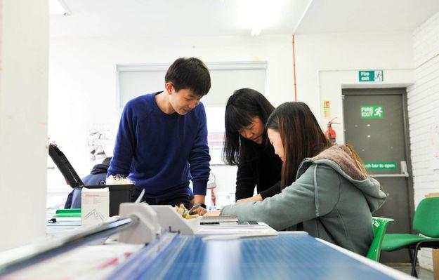 International foundation studios, UCA Farnham