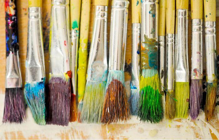 Paintbrushes, UCA Canterbury