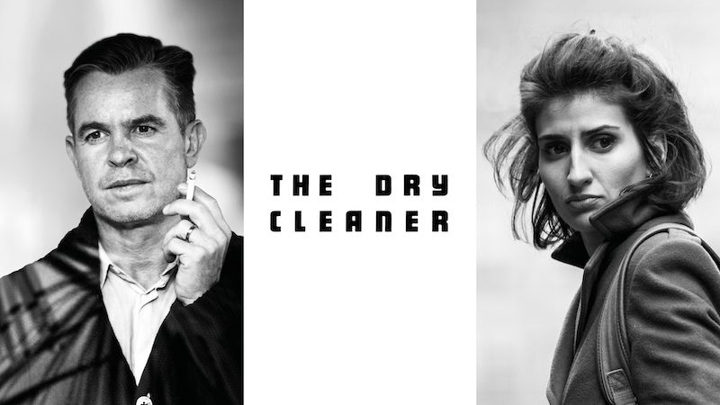 Poster for the Chris Carr movie The Dry Cleaner