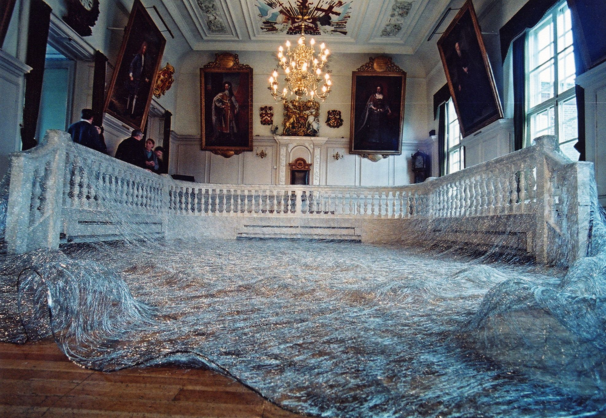 Textural space by Kyoko Kumai (exhibition by Lesley Millar)