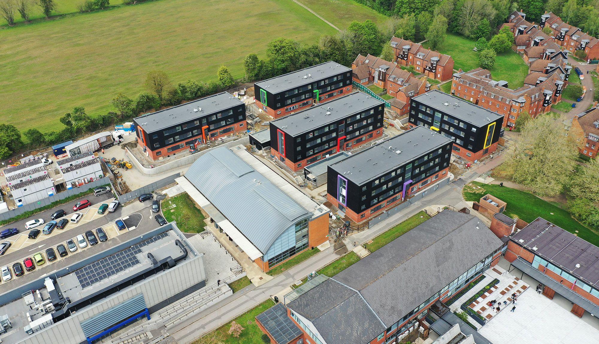 University walk, Farnham accommodation