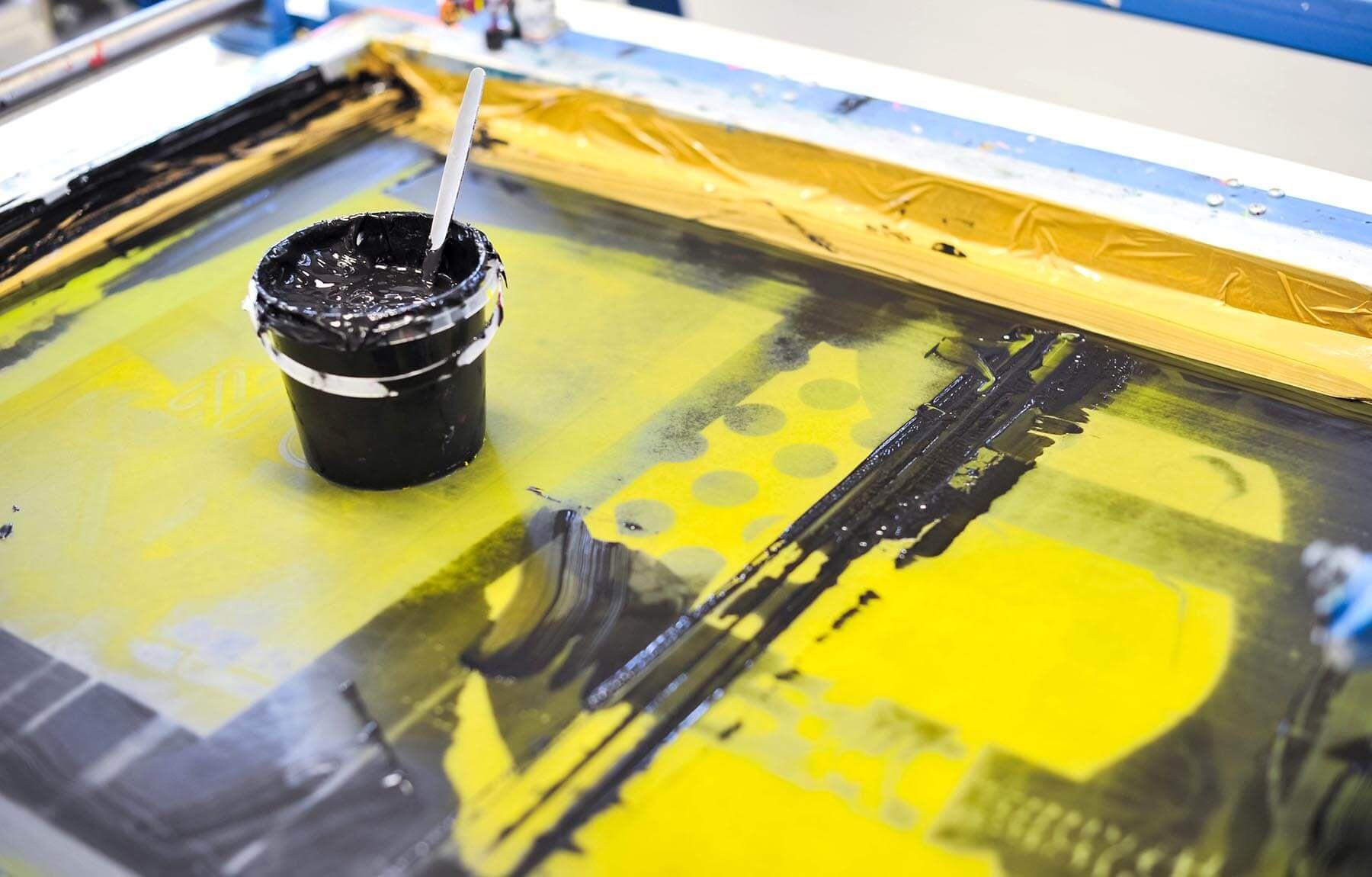 Print workshop, UCA Epsom