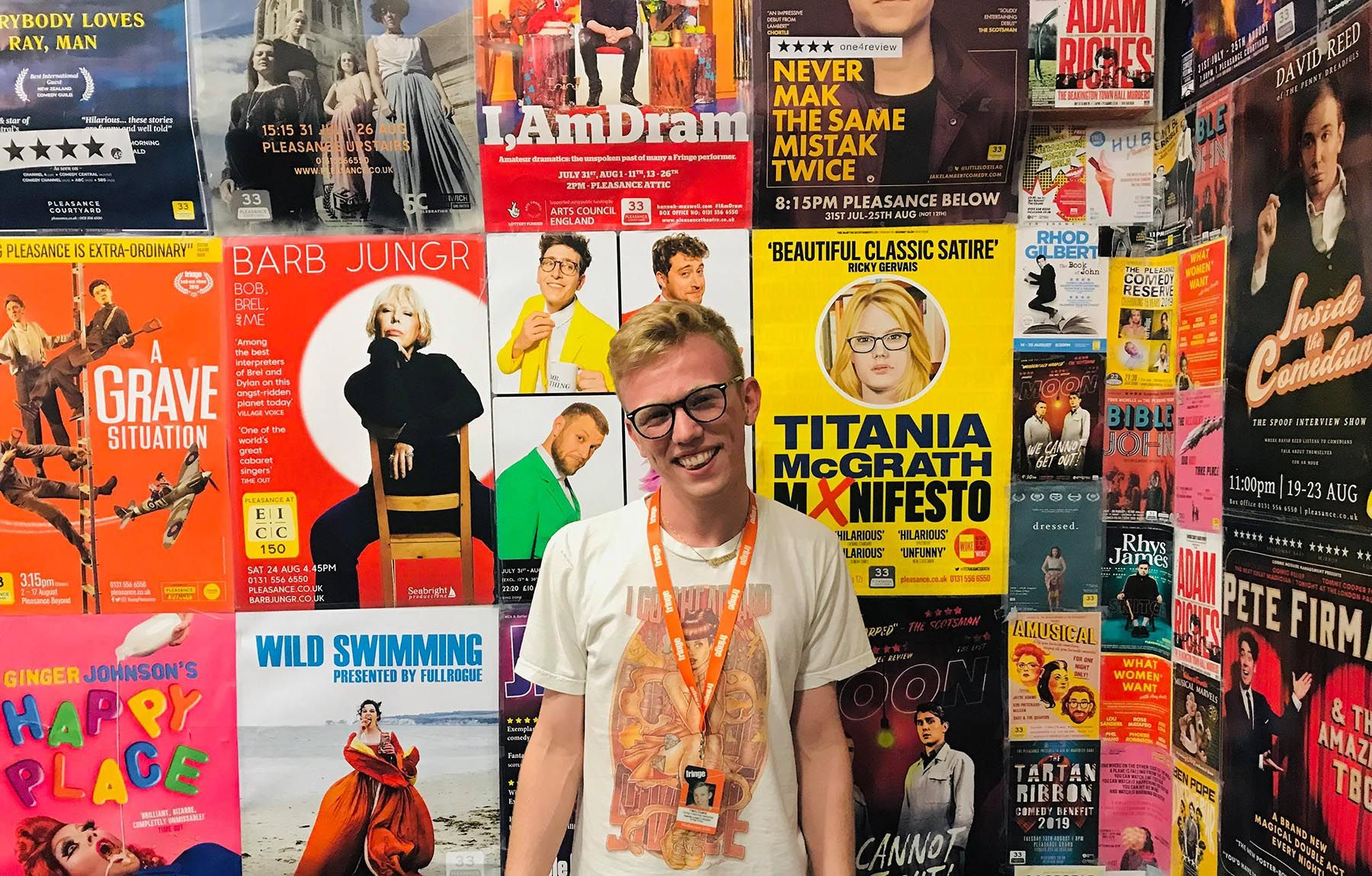 Harry Evans at the Edinburgh Fringe