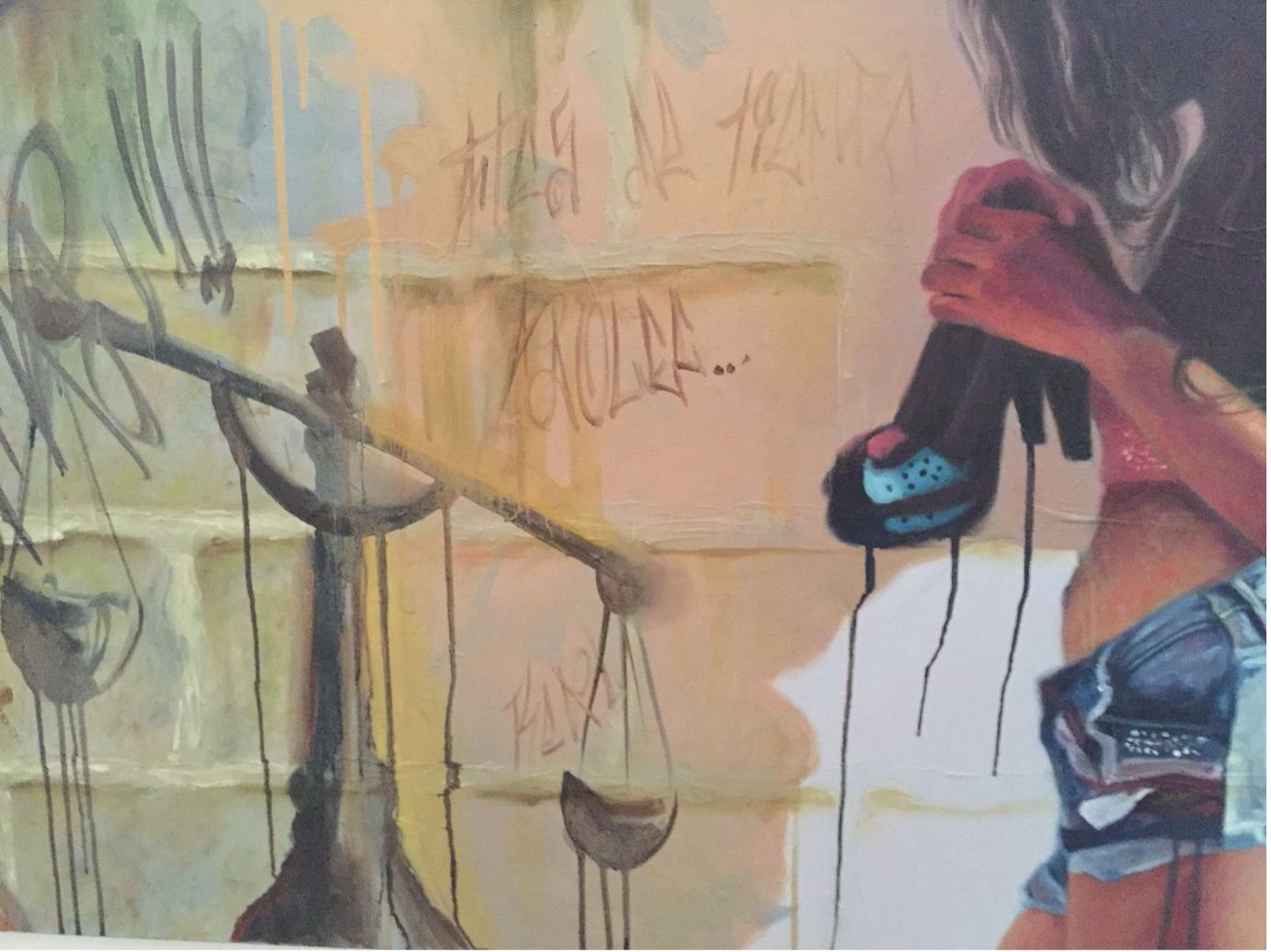 'In The Balance', art exhibit (Anon.), Barranquilla, Colombia, 2017, © ST Dancey .jpg