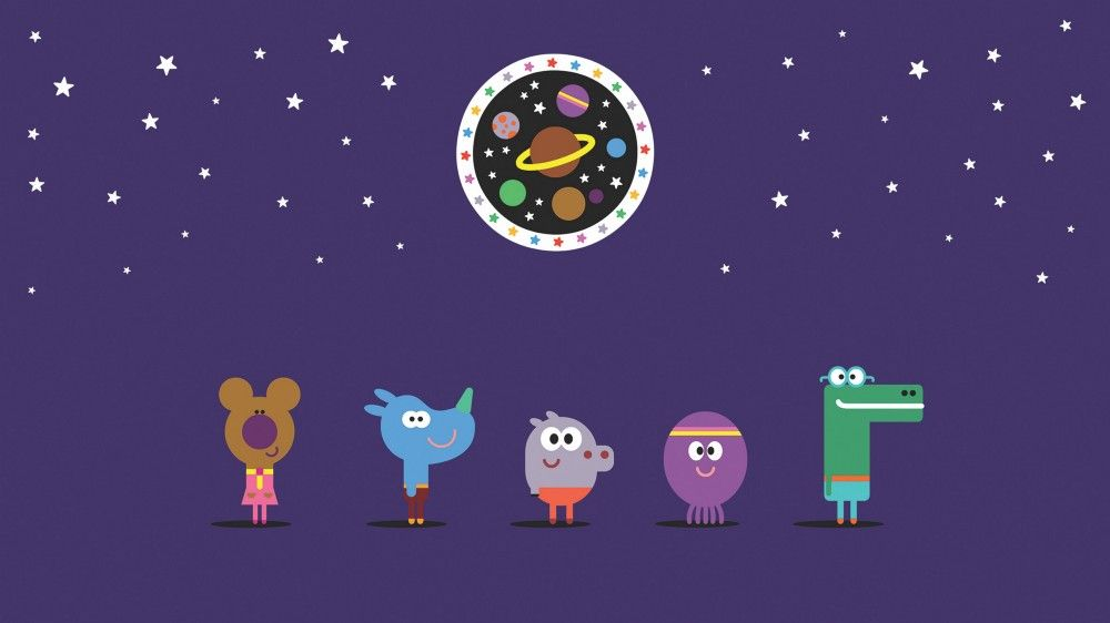 Grant Orchard's Hey Duggee characters. Picture courtesy of Studio AKA