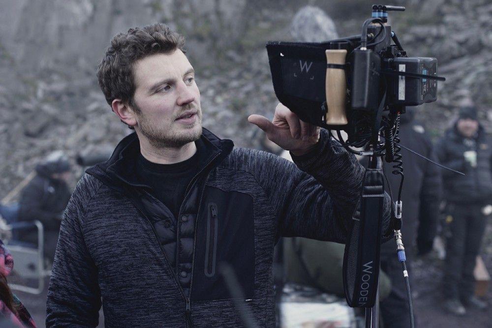 Will McGregor on set